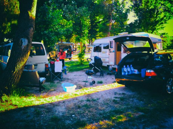 Camping Setup in Croatia - Split / Stobrec