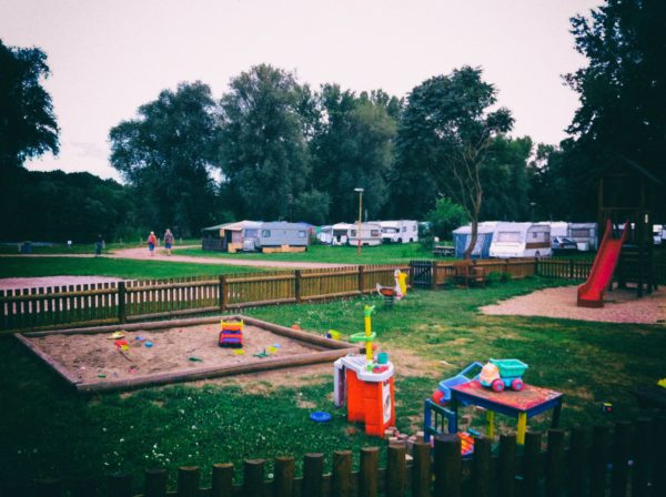 Sandbox at Campsite