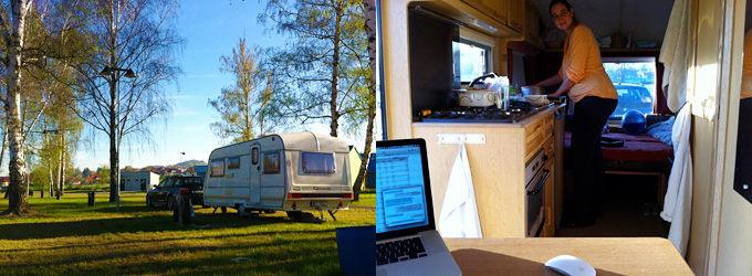 Camping in Zlin, Czechia