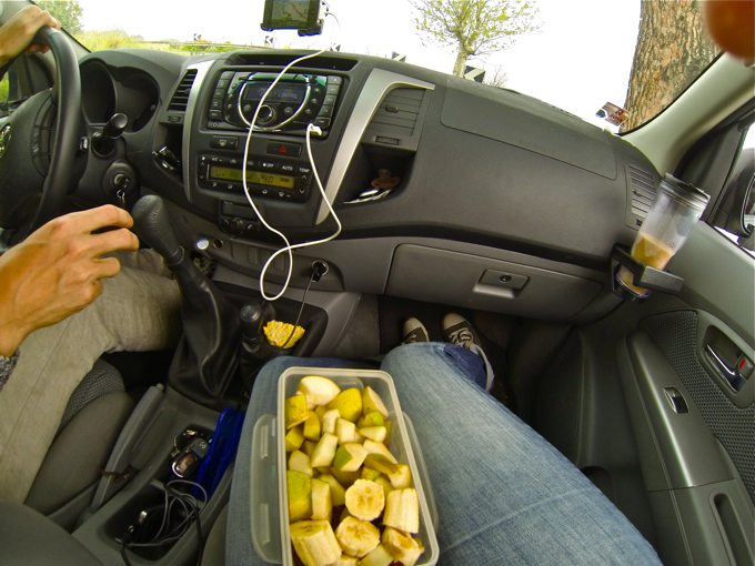Food while travelling with caravan