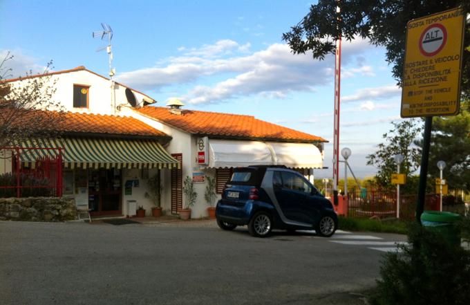 Italian Campsite View
