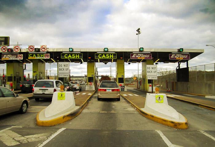 Toll Gate in USA
