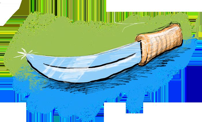 Machette illustration