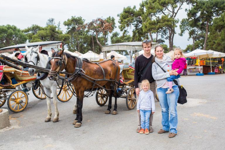 Caravan Family in Turkey