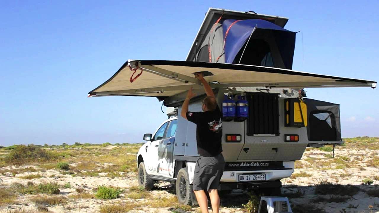 Alu-Cab Ossewa Camper