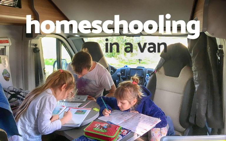 homeschooling and vanlife
