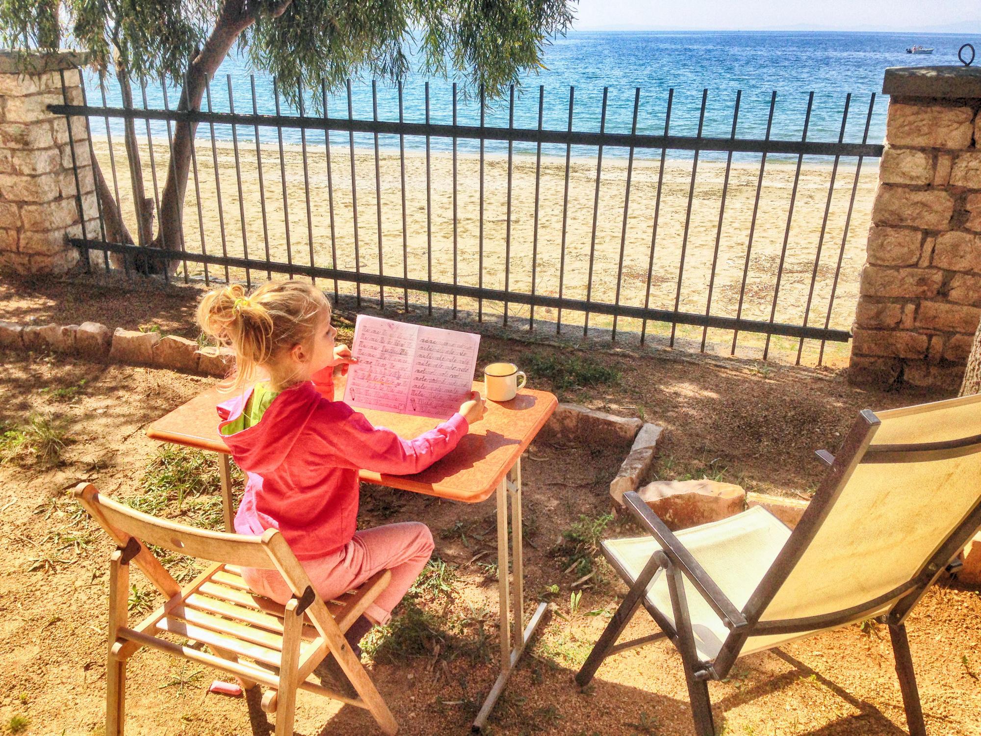 Writing and Sea