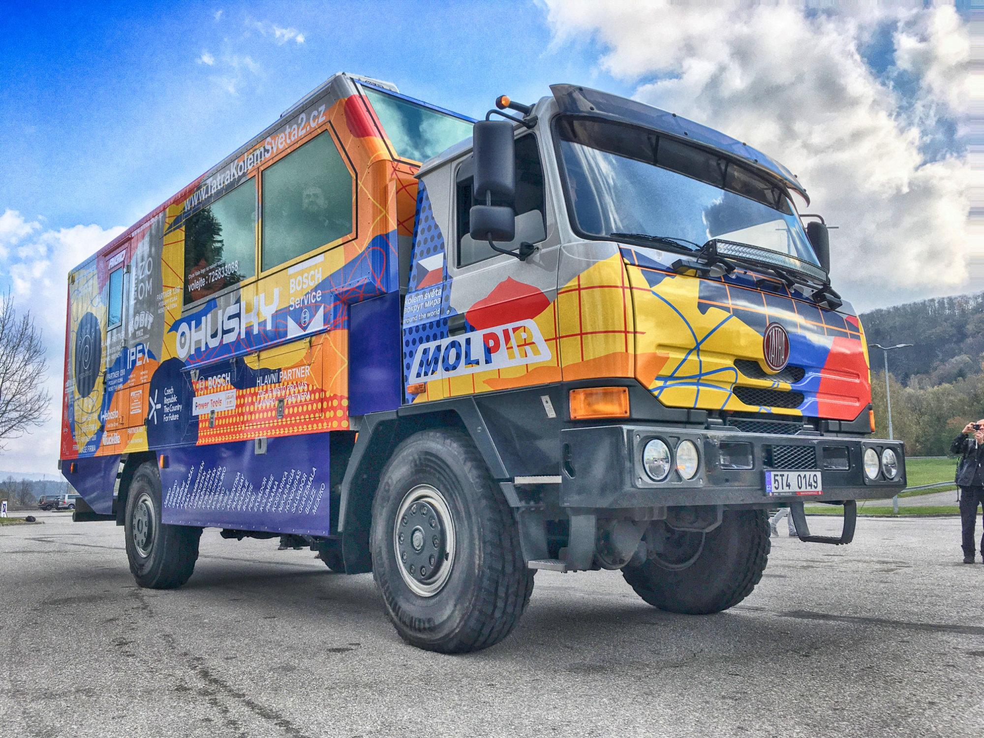 Tatra Around The World Expedition