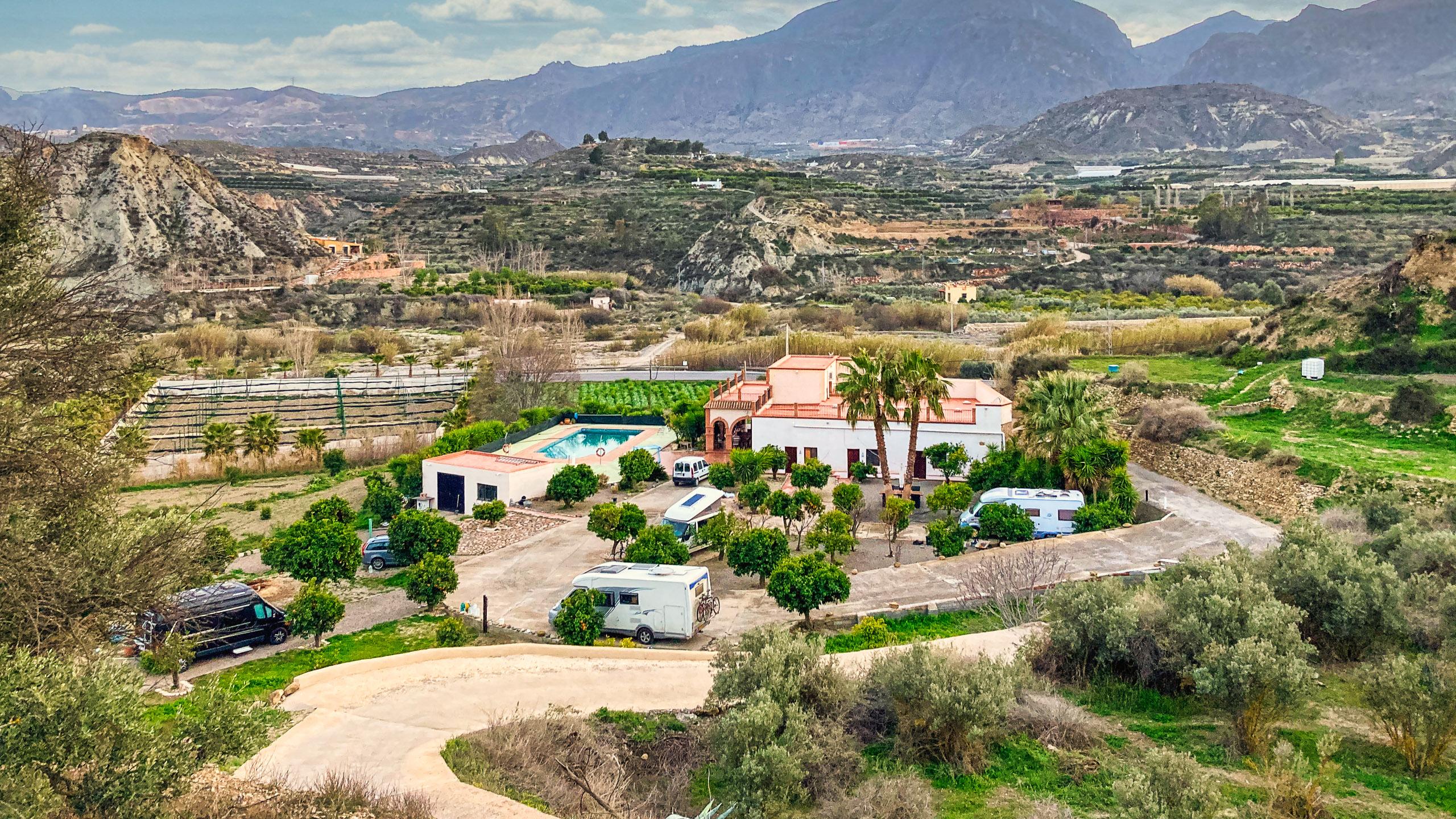 Camperpark Camino Ancho