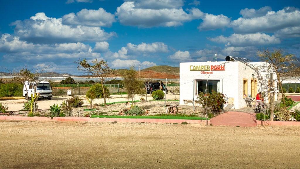 Camper Park Olivares