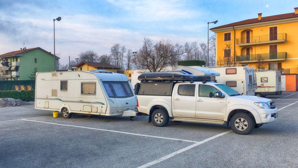 Cherasco Camperspot Italy