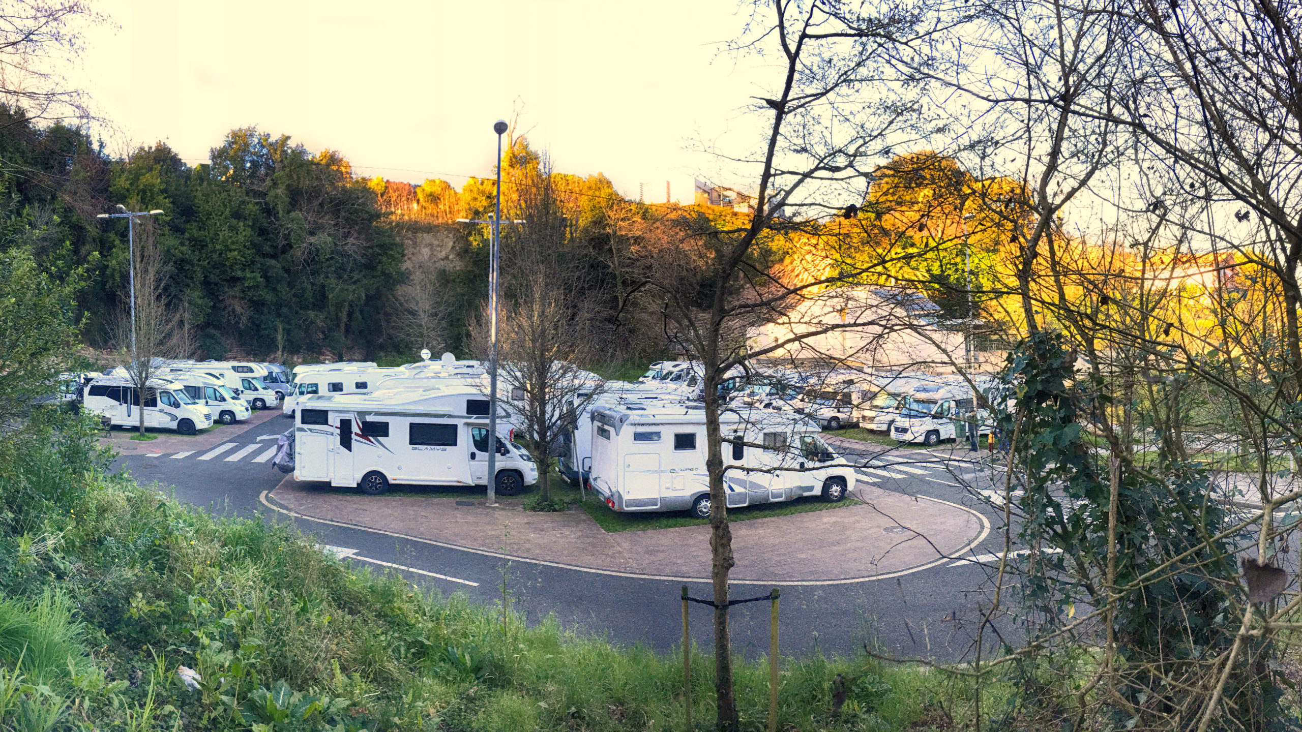 San Sebastian Camperspot-Spain