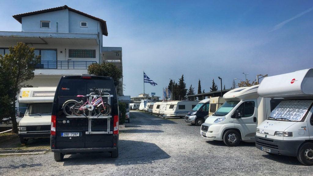Zampetas Camperspot Greece