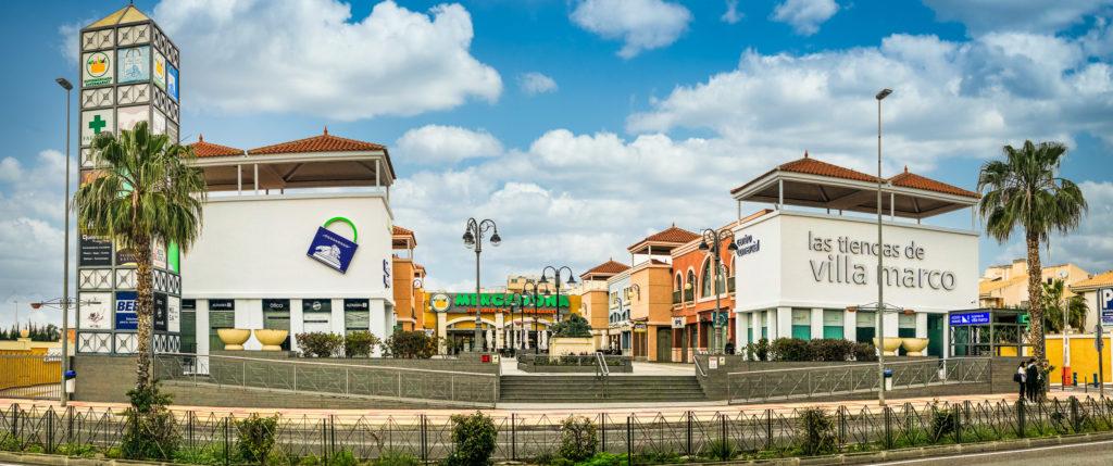 Camper Area Alicante - shopping