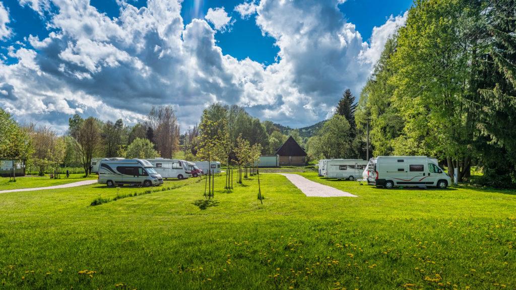 Caravanparking Adrspach