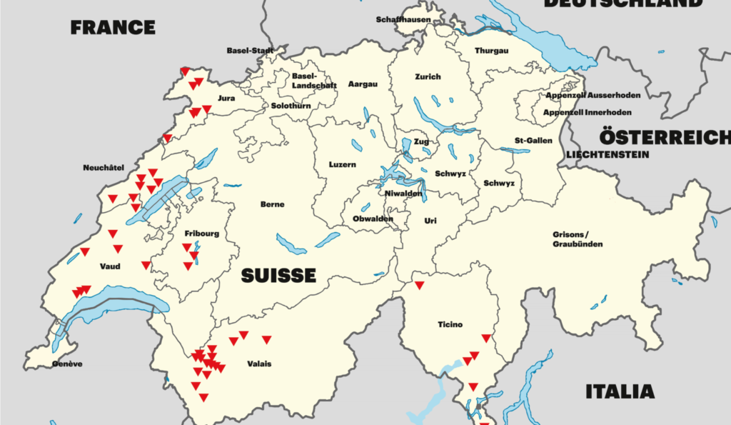 Swiss Farms and Wineries