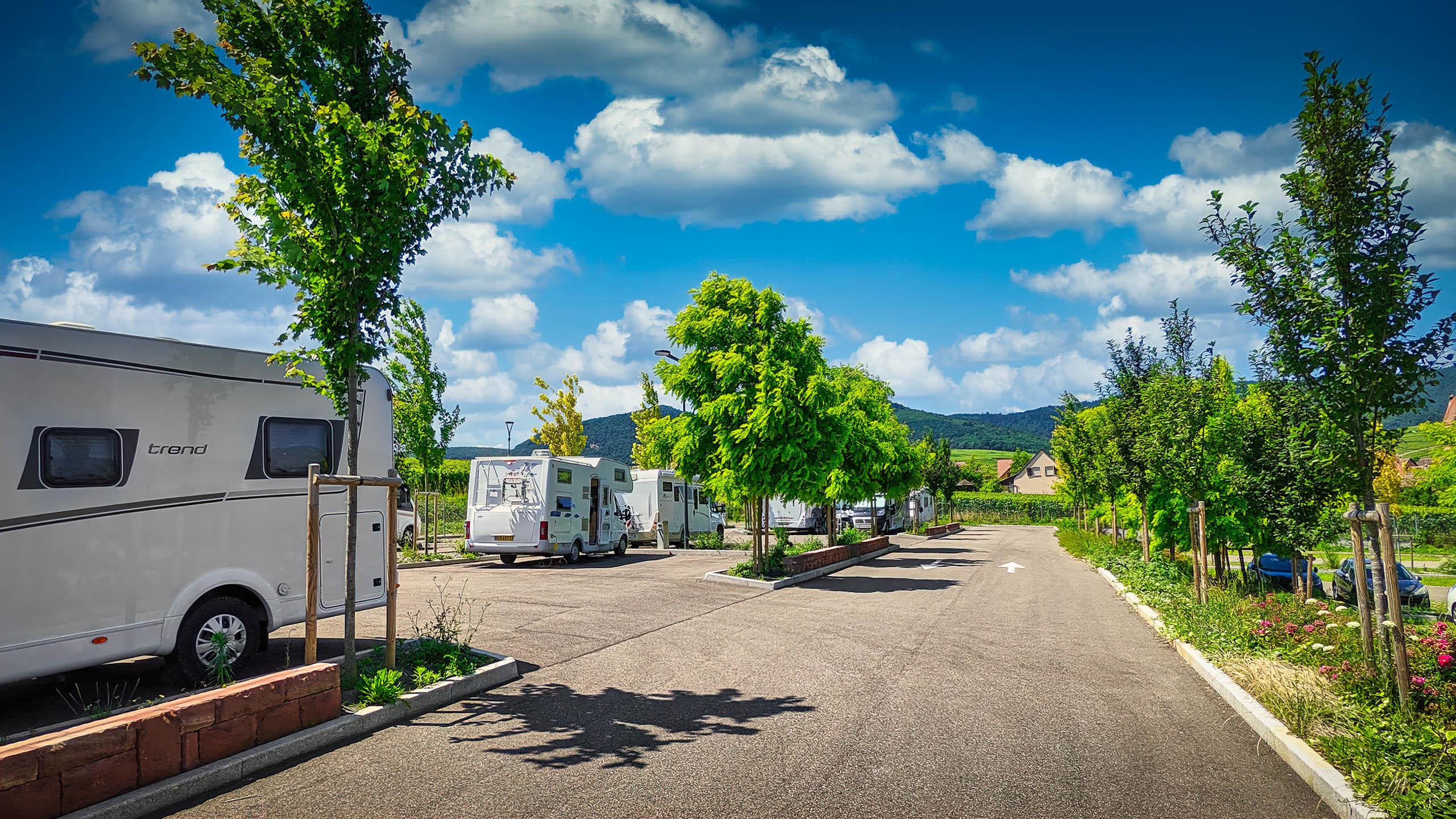 Camper park Eguisheim