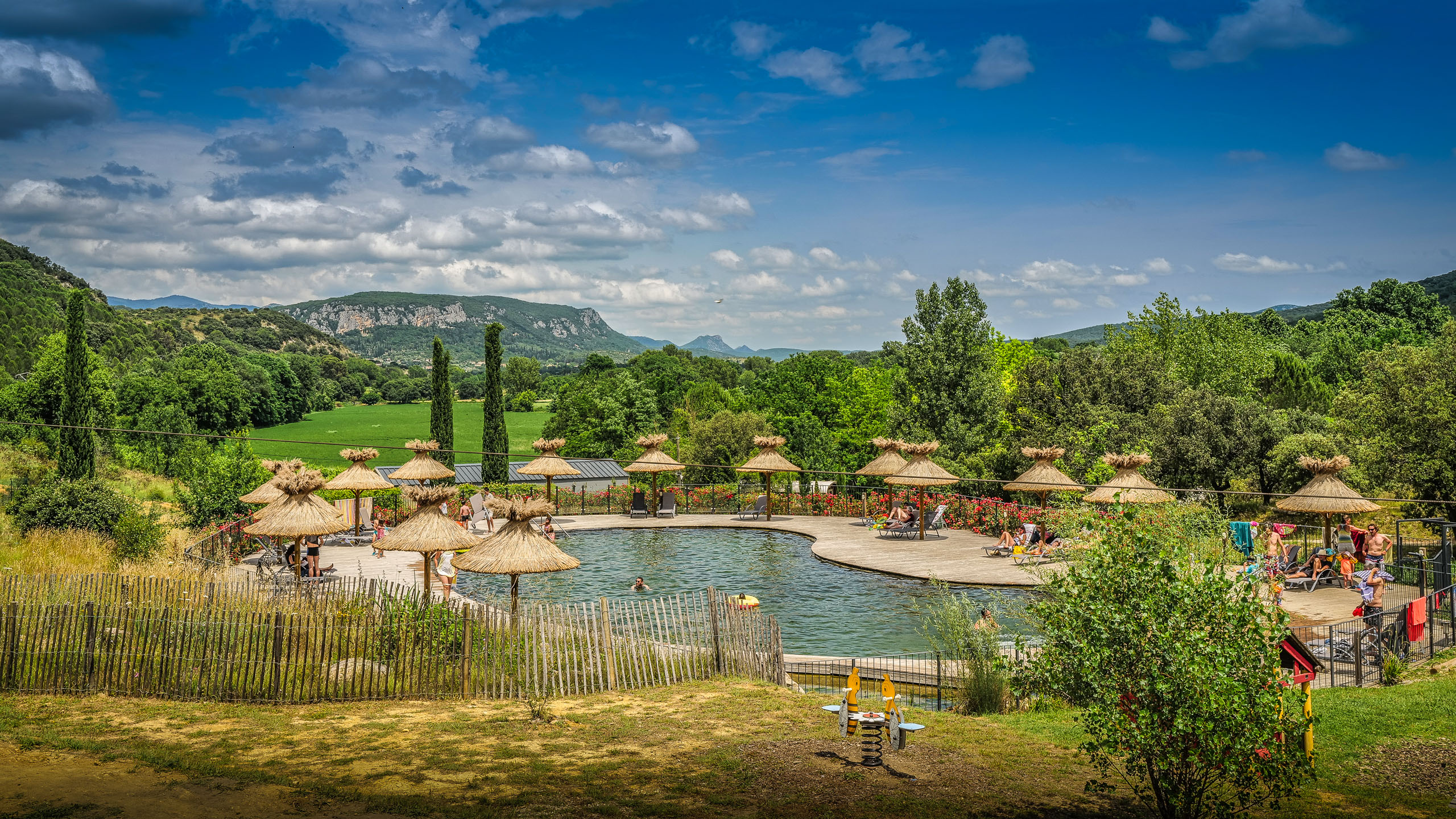 Camping du Domaine D'Anglas