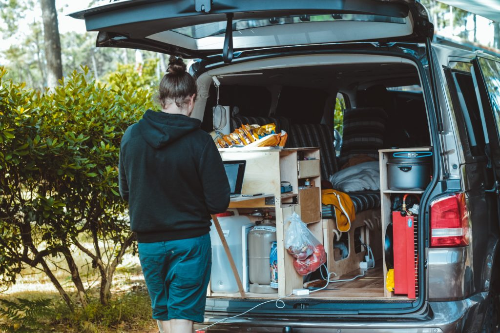 Vanlife brings you flexibility and freedom