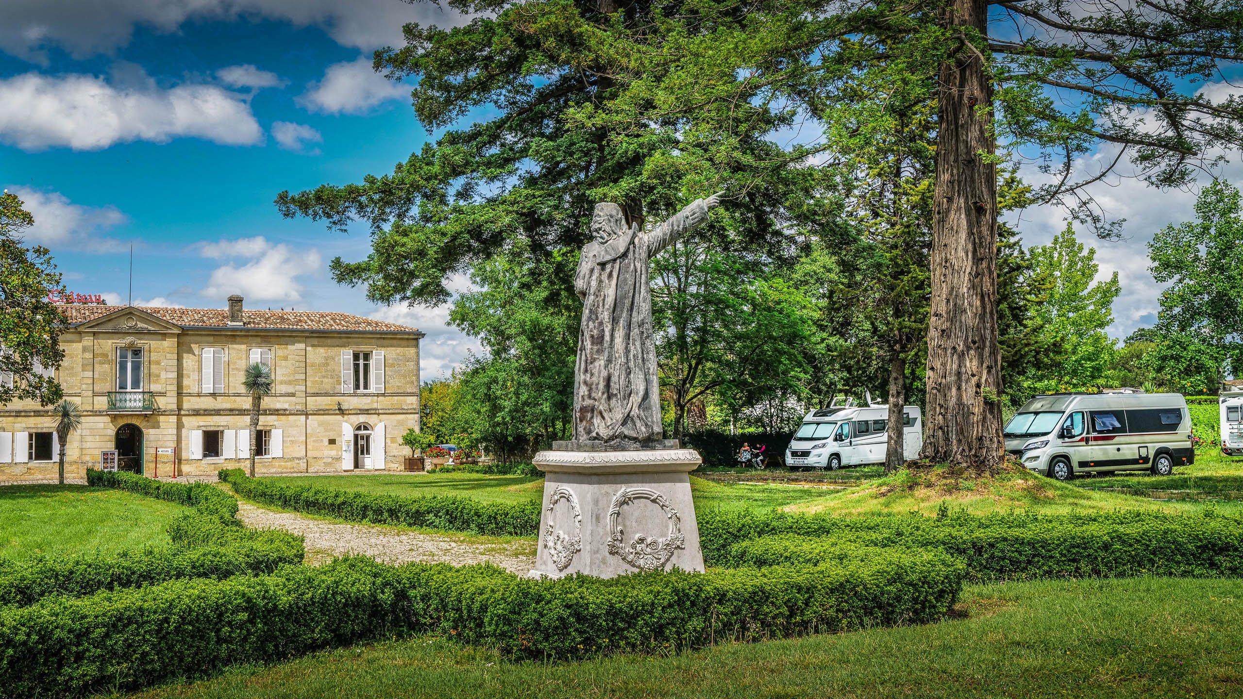 Chateau Marquis de Vauban Blaye Camperpark